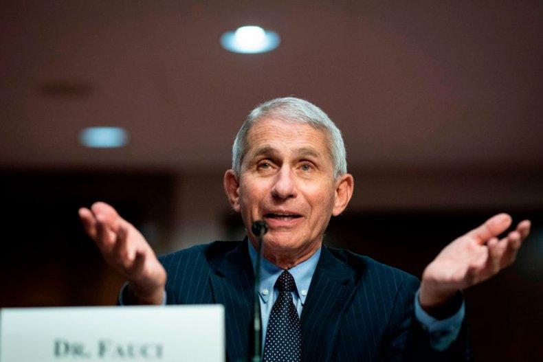 Dr. Anthony Fauci at Senate Hearing