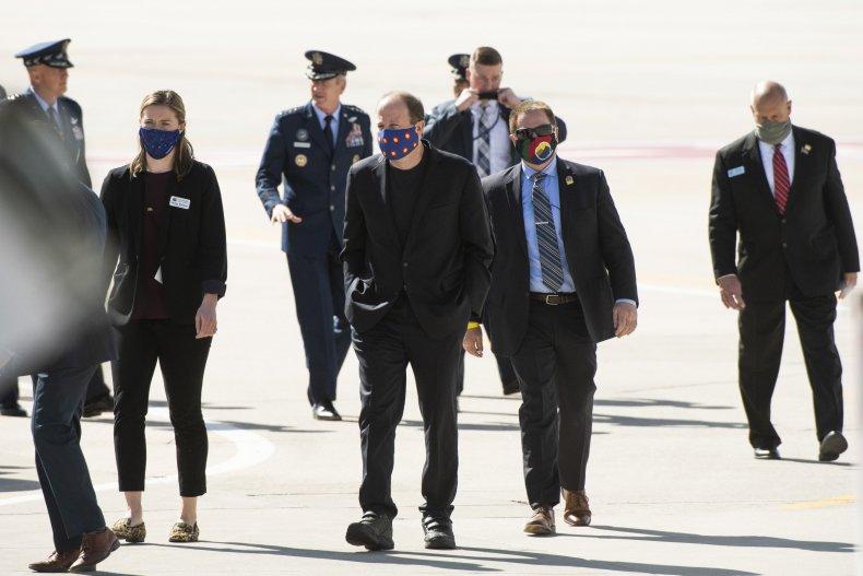 Colorado Governor Face coverings