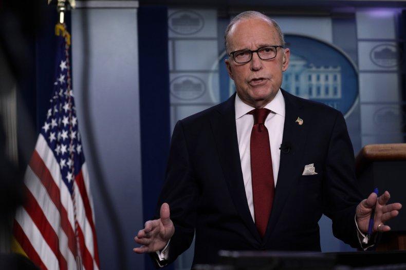 larry kudlow white house stimulus check