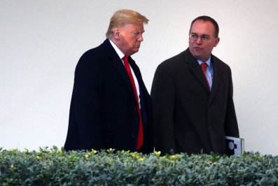 Trump and Mulvaney