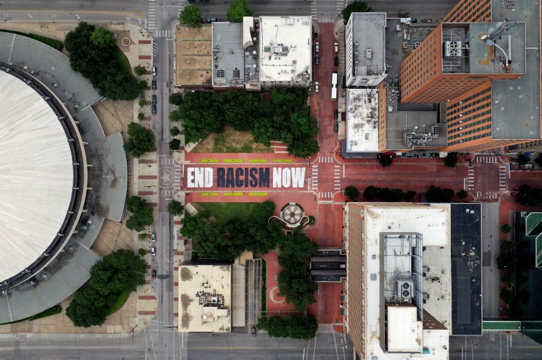 Forth Worth, Texas End Racism Mural