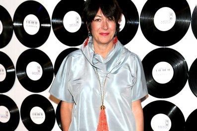 Ghislaine Maxwell at New York Benefit Gala