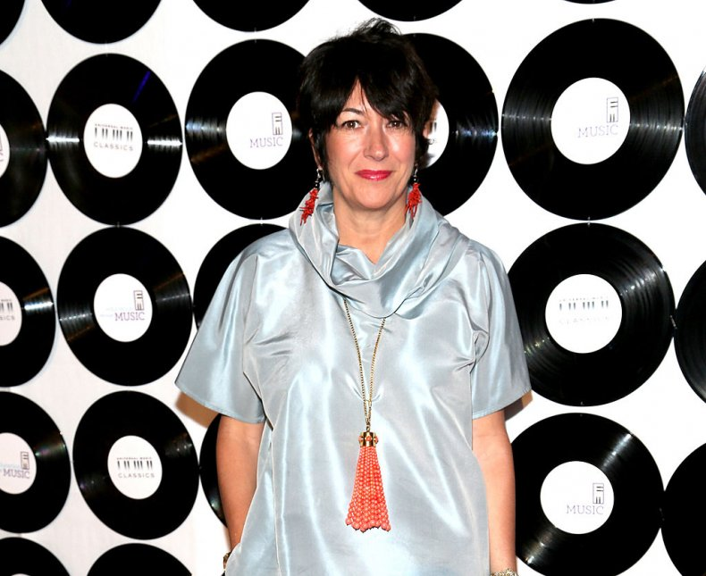 Ghislaine Maxwell at New York Benefit Gala