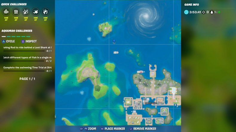 fortnite trident location 1