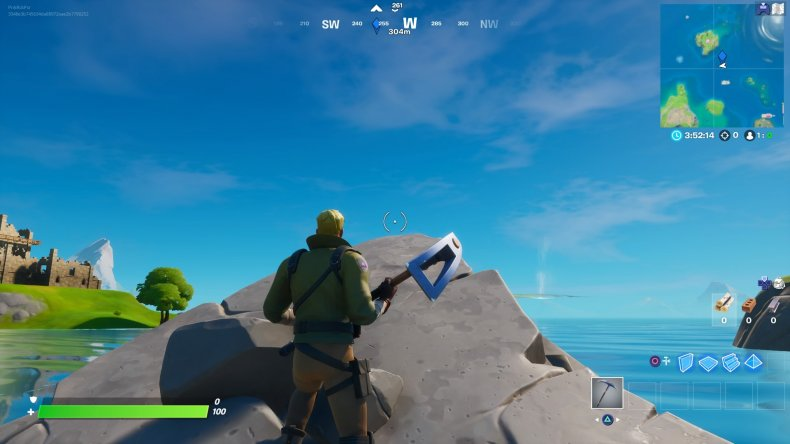 fortnite trident rock
