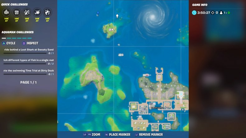 fortnite trident location 2