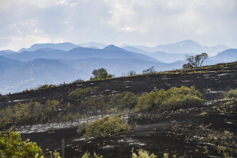 Colorado, wildfire, June 2020