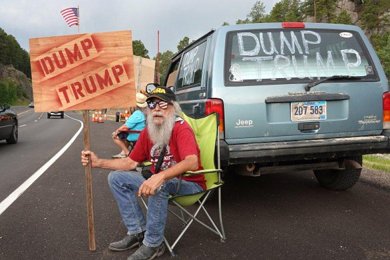 Dump Trump Mike Harris