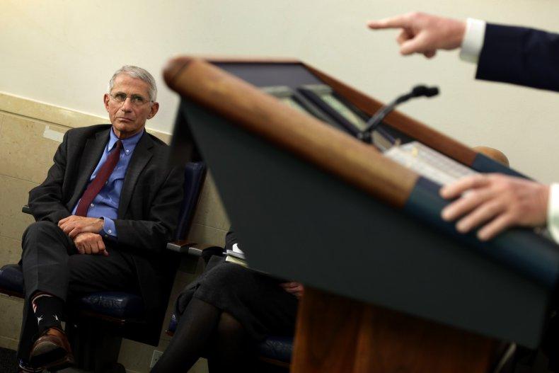 Fauci says public should trust 'medical authorities'