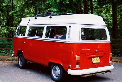 Newsweek AMPLIFY - Campervan