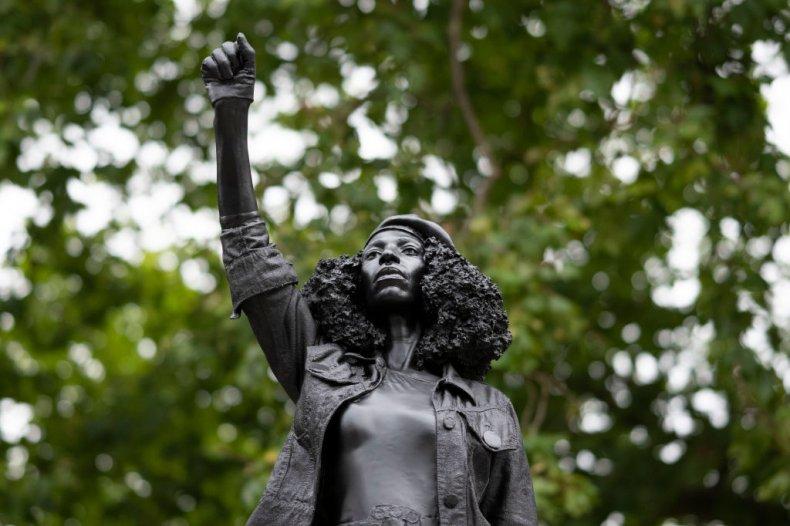 Jen Reid Statue in Bristol