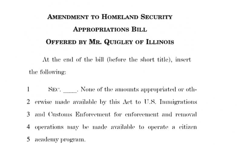 HAC amendment