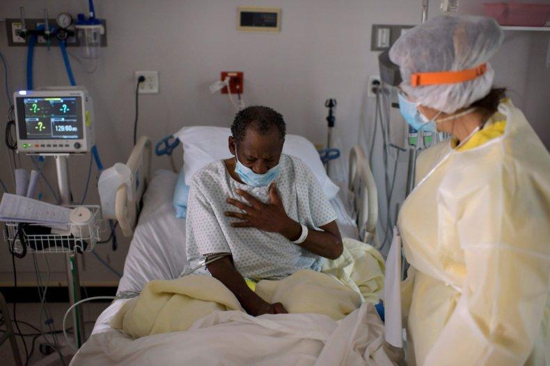 Texas coronavirus COVID-19 deaths hospitalizations
