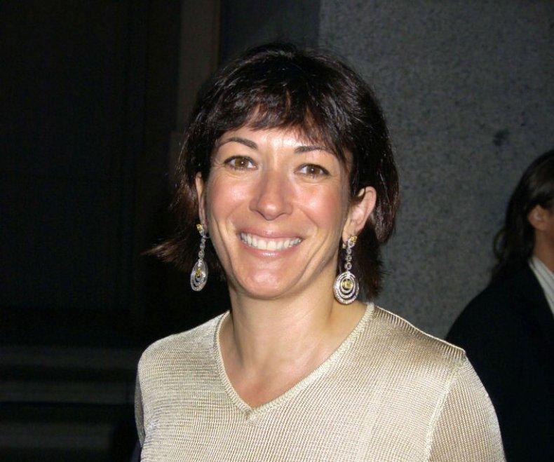 Ghislaine Maxwell at Cipriani Wall Street