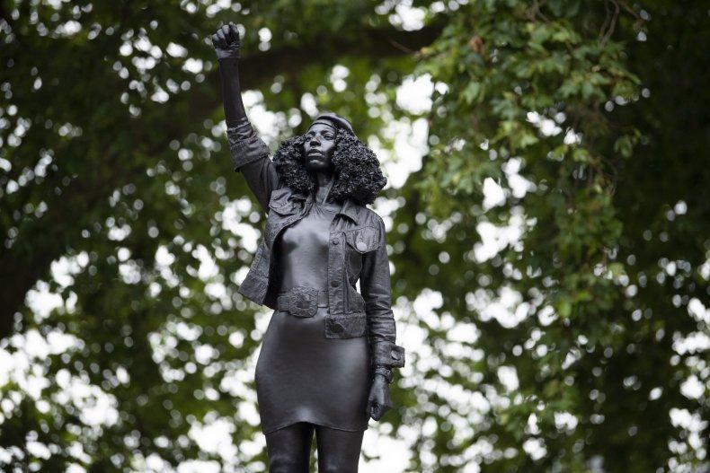 Bristol Statue Jen Reid BLM