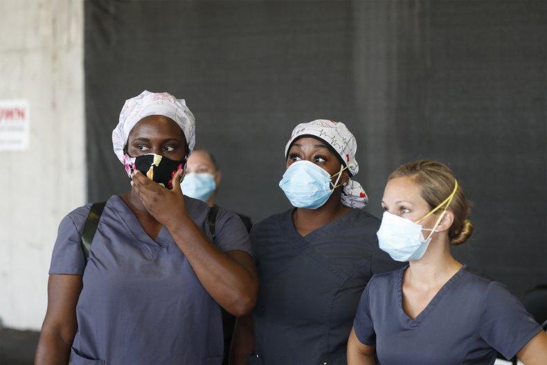 St. Petersburg, Florida, health workers, July 2020
