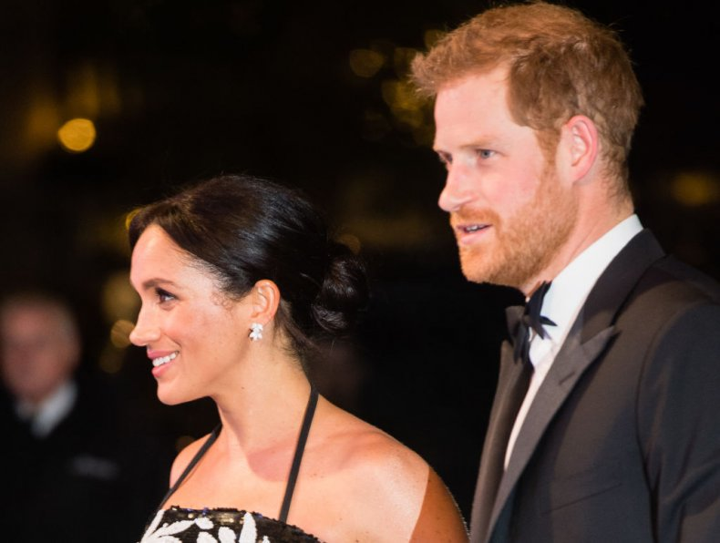 Meghan Markle and Prince Harry, Royal Variety