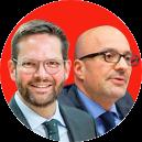 Lukas Mandl and Daniel Schwammenthal