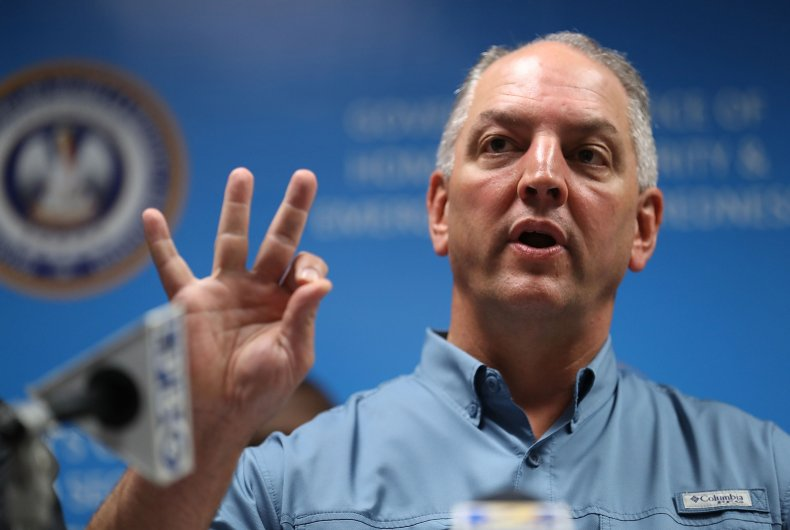 Louisiana Governor John Bel Edwards prayer fasting
