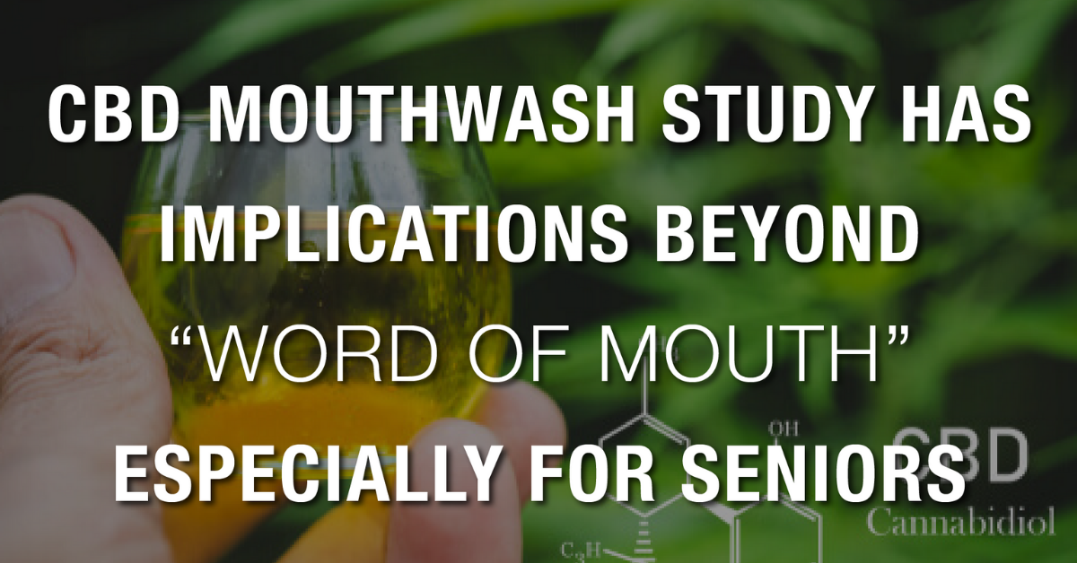 Newsweek AMPLIFY - CBD Mouthwash Study