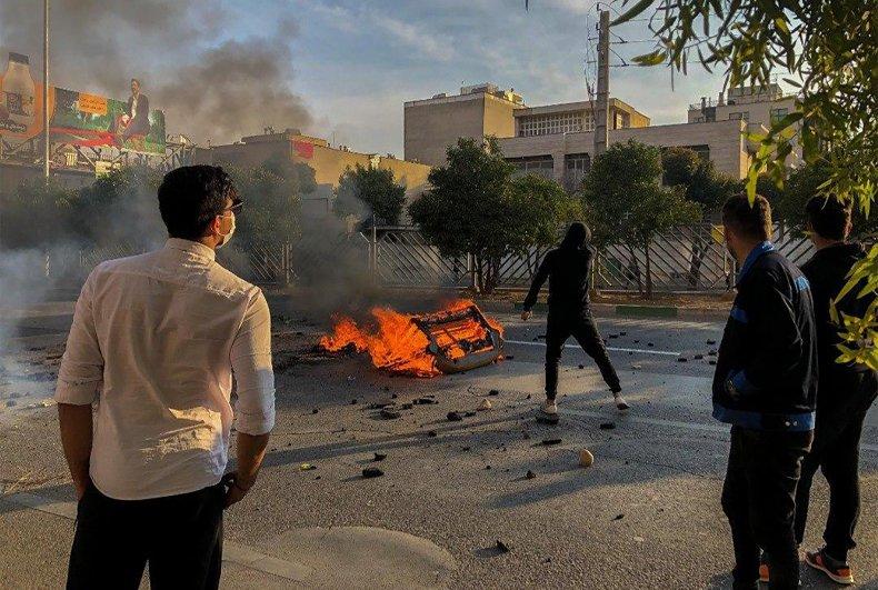 Iran, protests, oil, sanctions, economy, explosions, coronavirus