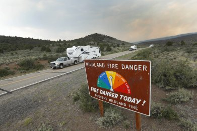 Utah wildfire evacuation June 2017