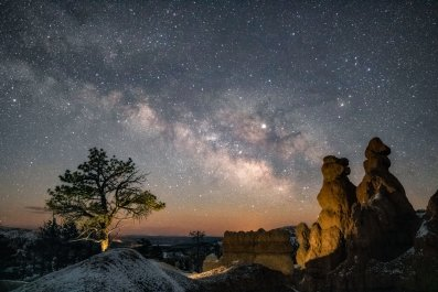Bryce Canyon National Park, night sky