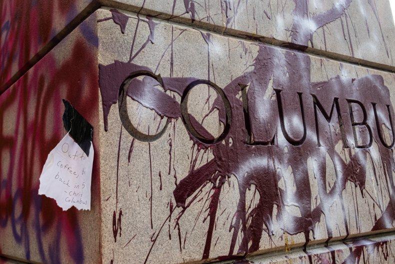 columbus plinth