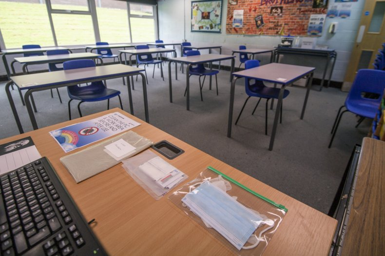 schools reopening second stimulus package