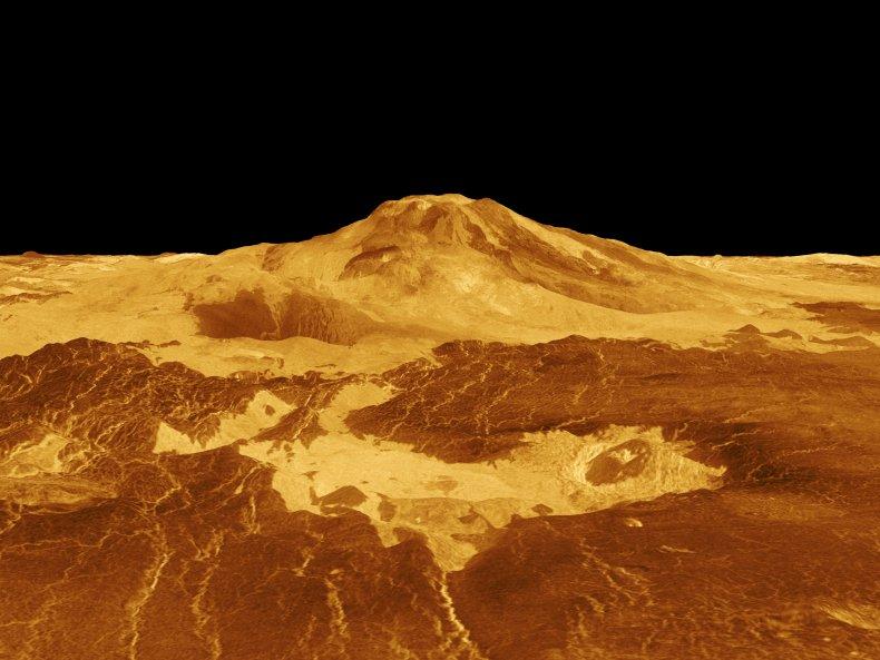 Maat Mons, volcano