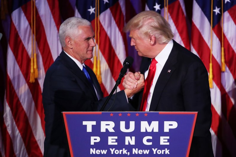 mike pence donald trump 2016