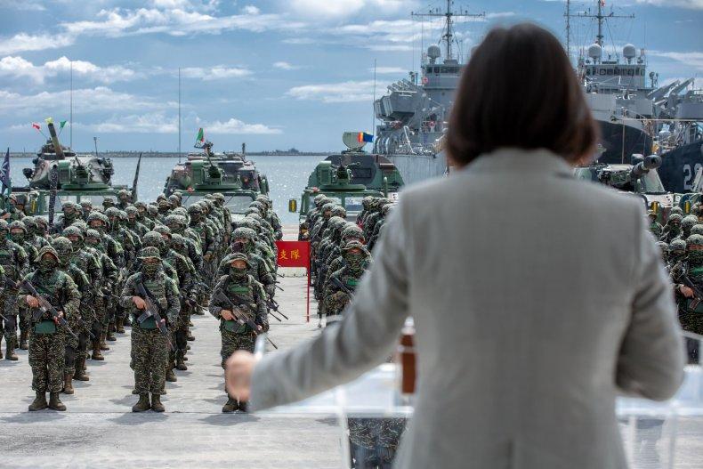 taiwan, president, tsai, military