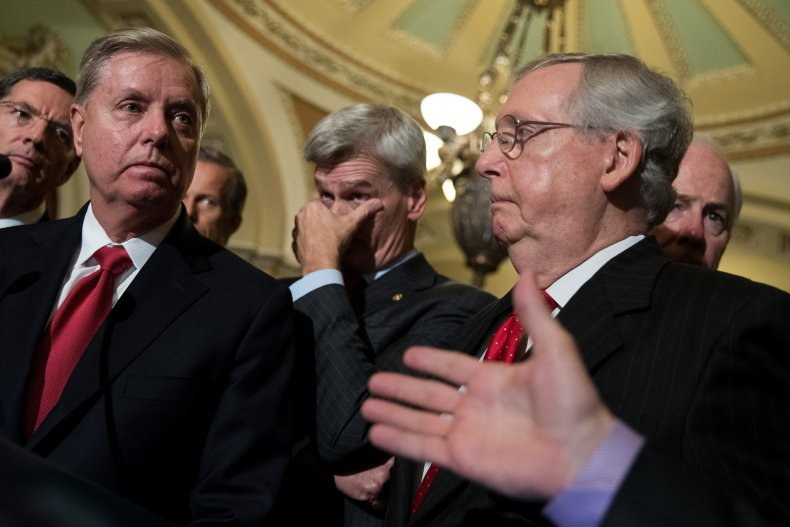 senate republicans mcconnell graham fundraising