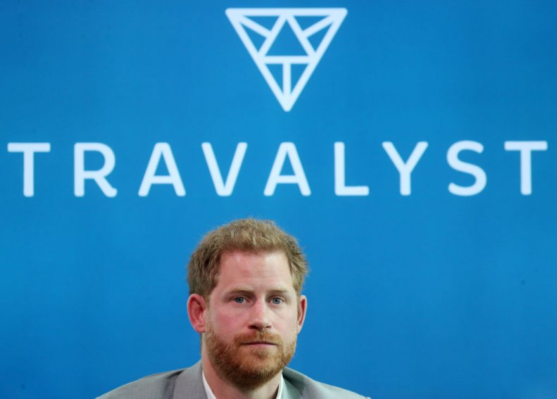 Prince Harry Launches Travalyst