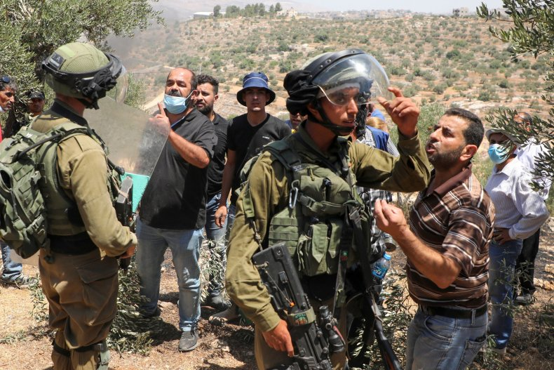 Israel, west bank, annexation, China, Palestinians, settlements