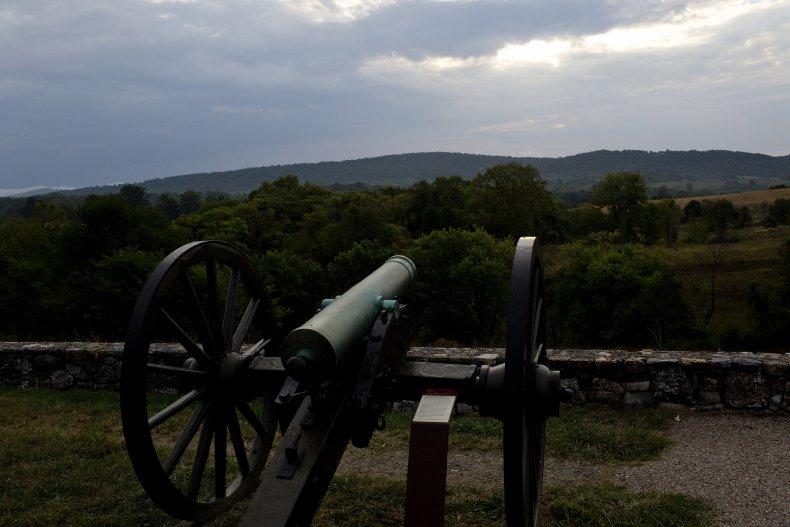 Cannon at Antietam