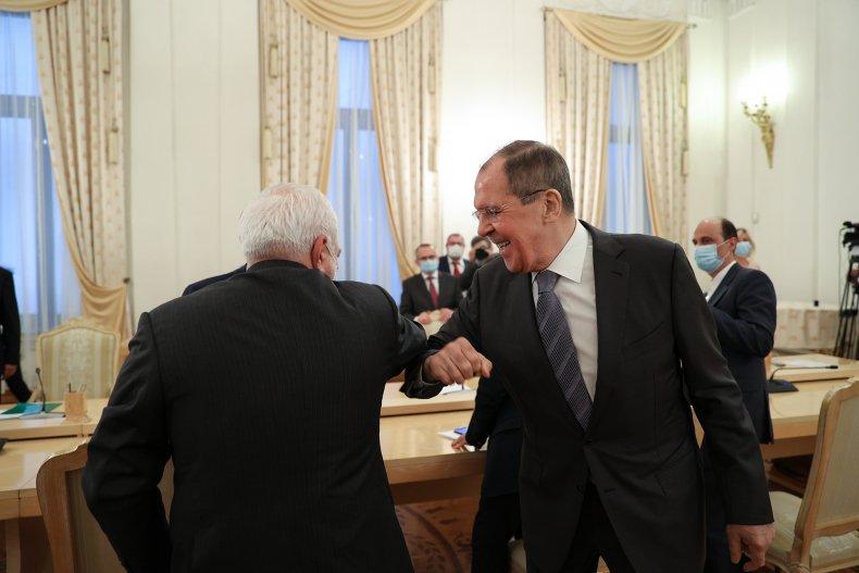 iran, zarif, russia, lavrov, moscow, talks