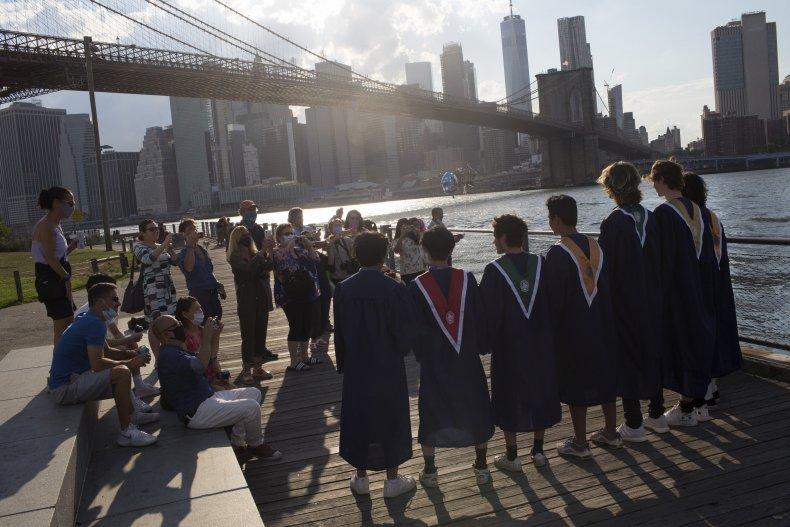 High school graduation during coronavirus