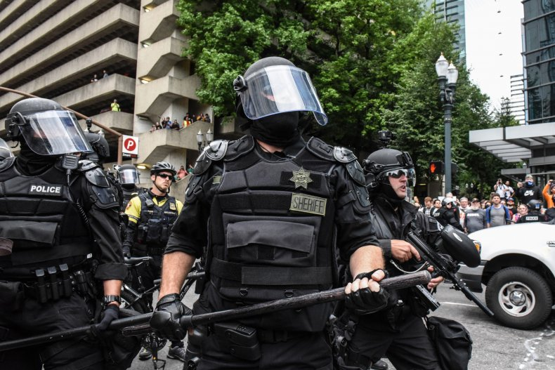 Portland police Department of Homeland Security doxxed