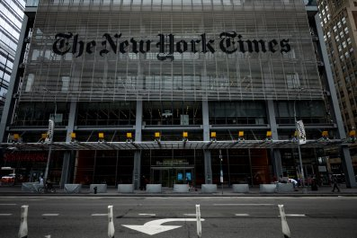 New York Times building in New YorkCity