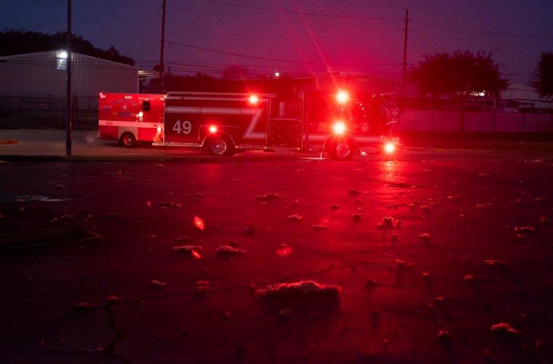 Firefighters, Houston, Texas, January 2020