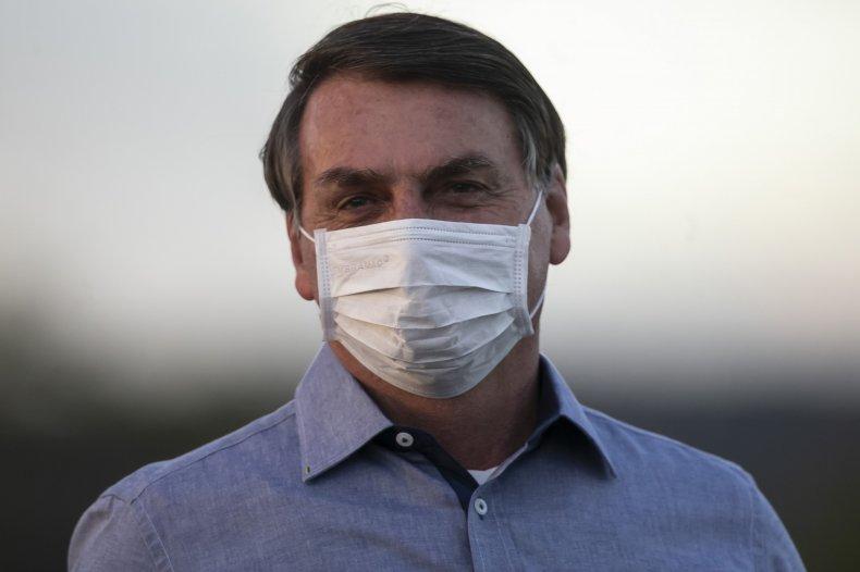jair bolsonaro positive coronavirus test