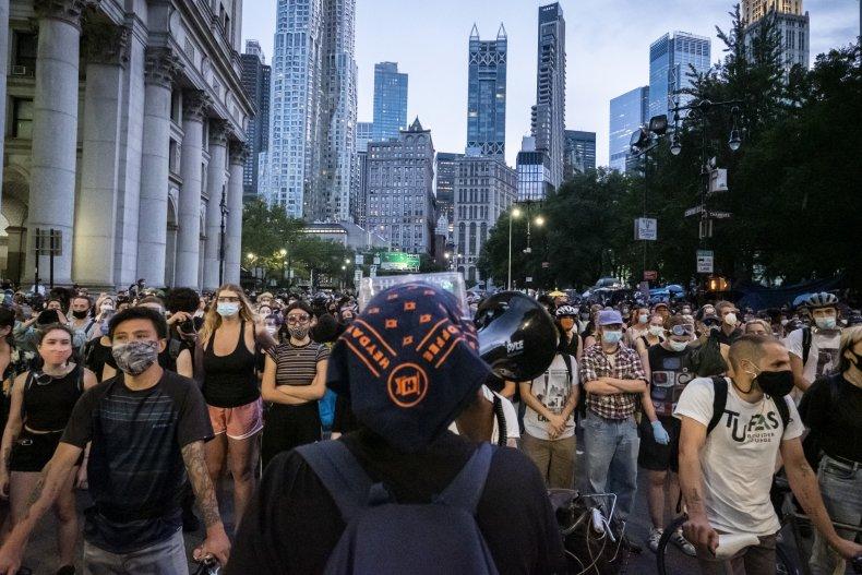 New York City protest Manhattan June 2020