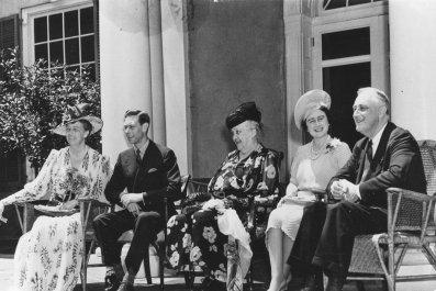 Queen Elizabeth Hot Dog Day
