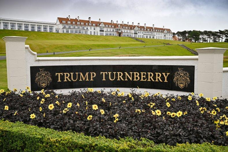 Trump Turnberry, Donald Trump
