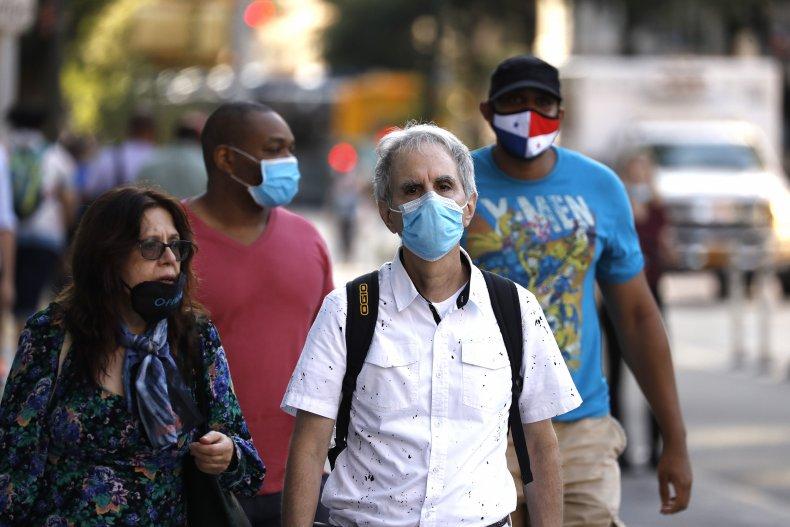 coronavirus, New York City, face masks, pandemic