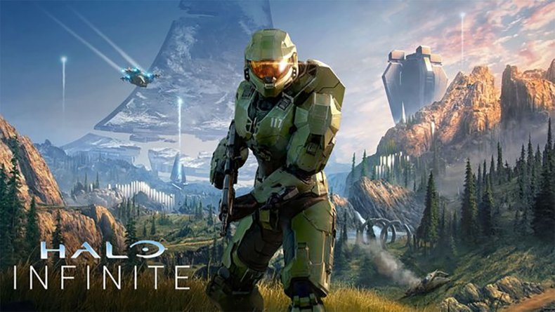 halo infinite master chief poster