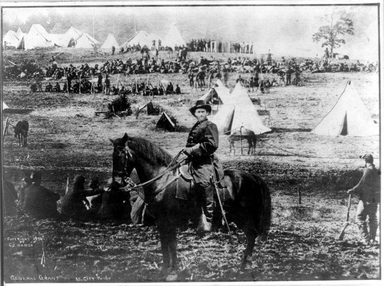 General Grant City Point Photo Manipulation