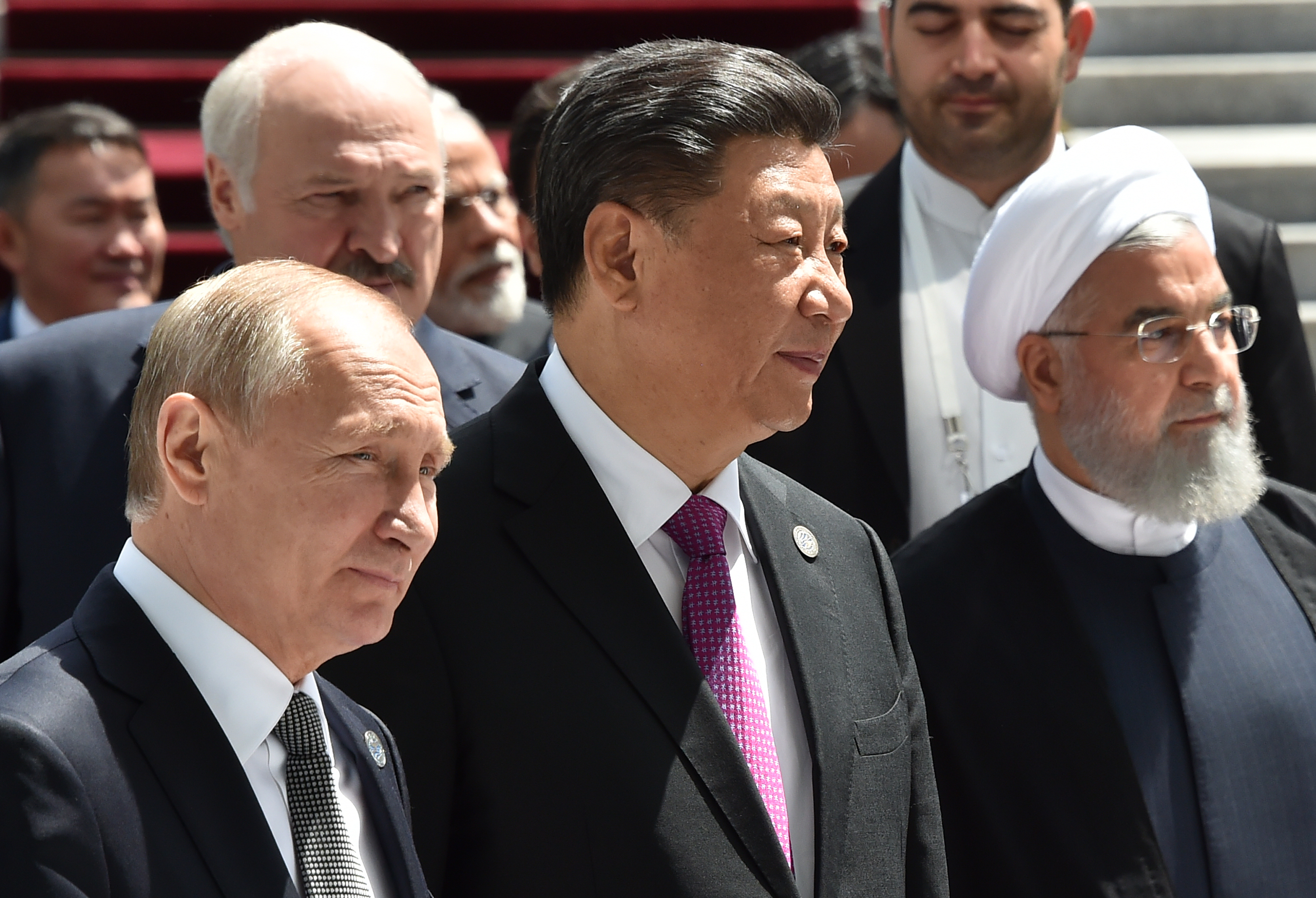 Iran Seeks Deals with Russia and China To Build Coalition to Resist U.S.