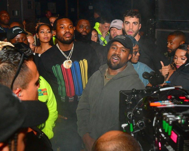 Meek Mill Kanye West